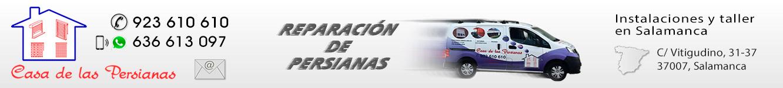 Reparación de persianas en salamanca: Tfno. 923 610 610. Averías de persianas. Servicio Tecnico de persianas Salamanca. Reparación de motores y automatismos para persianas. Reparación de toldos en Salamanca. Reparación de mosquiteras en Salamanca. Sustitución de persianas, toldos y mosquiteras en Salamanca. Motores para persianas, automatismos, accesorios y repuestos.